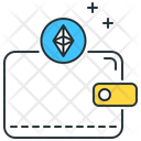 Ethereum Wallet Wallet Purse Icon