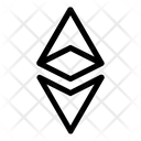 Etherium Ethereum Curenmcy Icon
