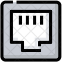 Electric Connection Ethernet Icon