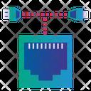 Internet Laptop Network Icon