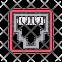 Rj Ethernet Port Icon