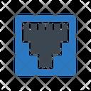 Rj Ethernet Network Icon