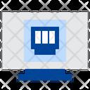 Ethernet Network Port Icon
