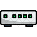 Ethernet Network Switch Icon