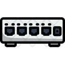 Ethernet Switch Network Switch Icon