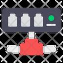 Ethernet Hub Active Hub Network Hub Icon