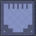 Ethernet Port Ethernet Network Icon