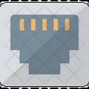 Ethernet Socket Lan Port Network Hub Icon