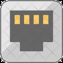 Lan Port Ethernet Icon