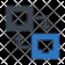 Ethernet Transfer Icon