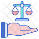 Ethic Balance Moral Icon