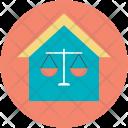 Ethics Law Balance Icon