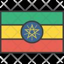 Ethiopia Ethiopian African Icon
