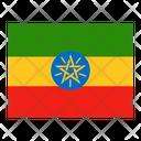 Ethiopia Flag Flags Icon