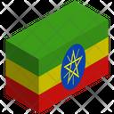 Flag Country Ethiopia Icon