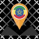 Ethiopia Flag Icon