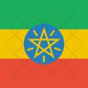 Ethiopia Flag World Icon