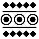 Ethnic Border Tribal Symbol Tribal Pattern Icon