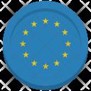 Eu Flag Circle Icon