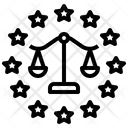 Eu Law Data Icon