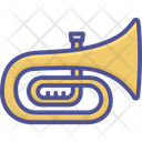 Euphonium French Horn Musical Instrument Icon