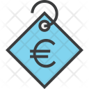 Euro Currency Price Icon