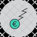 Euro Finance Trade Icon