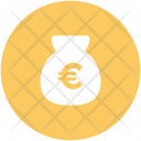 Euro Sack Money Icon