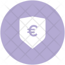Euro Sign Shield Icon