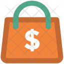 Euro Bag Money Icon