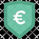 Euro Sign Shield Icon