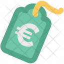 Euro Tag Label Icon