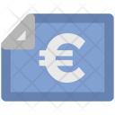 Euro Statement Bank Icon