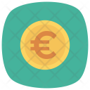 Euro Euromoney Currency Icon