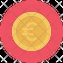 Euro Coin Cash Icon