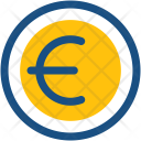 Euro Money Currency Icon