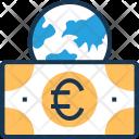 Euro European Shopping Icon