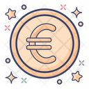 Euro Currency Finance Icon