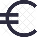 Euro Money Cash Icon