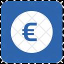 Euro Money Blue Icon