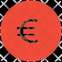Euro Sign Coin Icon