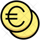 Euro Coins Invest Icon