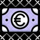 Euro Cash Money Icon