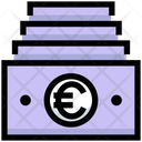 Euro Cash Payment Icon