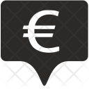 Euro Tag Place Icon