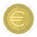 Euro Coin Pay Icon