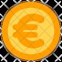 Euro Coin Banking Icon
