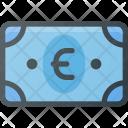 Euro Money Bill Icon