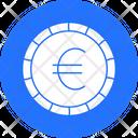 Euro Cash Coin Icon