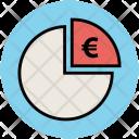 Euro Sign Piechart Icon